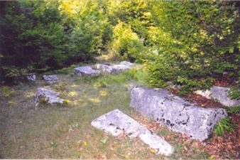 Некропола са стећцима – Ограда Влах код Коњица