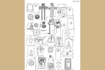 Мариан Венцел, Украсни мотиви на стећцима – Крстови