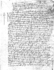 ТЕСТАМЕНТ ГОСТА РАДИНА ДУБРОВНИК, 5. ЈАНУАР 1466.