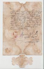 ДАРОВНО ПИСМО ПАТРИЈАРХА АРСЕНИЈА IV УЗ РУКУ СВ. ТЕКЛЕ 27. АПРИЛА 1730. ГОД.