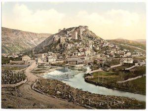 Видовски, град Светог Вида на ријеци Видовштици изнад Видовог поља