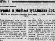 Мучење и убијање тузланских Срба – Шта је све учинила аустријска солдатеска у овом напаћеном крају –
